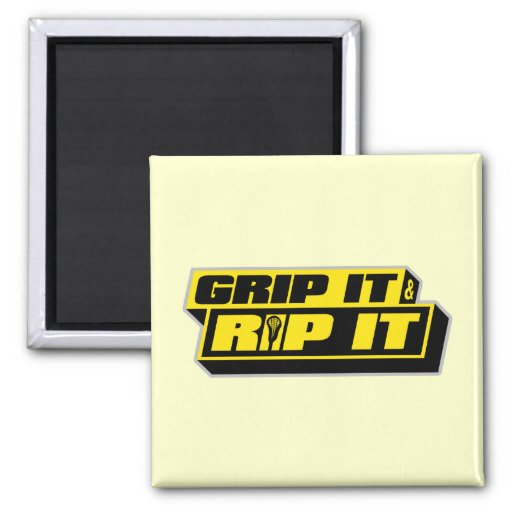 Grip It and Rip It 2 Inch Square Magnet