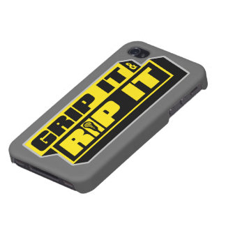 Grip It and Rip It Lacrosse case iPhone 4 Case