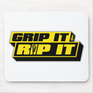Grip It and Rip It Mouse Pad