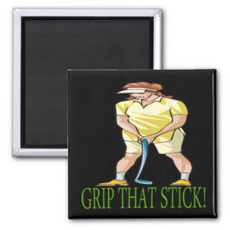 Grip That Stick 2 Inch Square Magnet