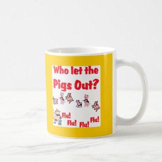 ¿Gripe 2009 de los cerdos - quién dejó la GRIPE HA Taza De Café