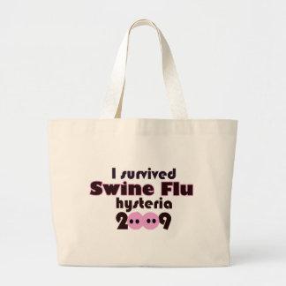 Gripe de los cerdos bolsas de mano