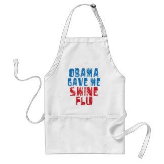 gripe de los cerdos de obama delantales