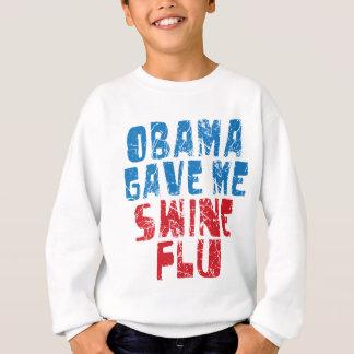 gripe de los cerdos de obama sudadera