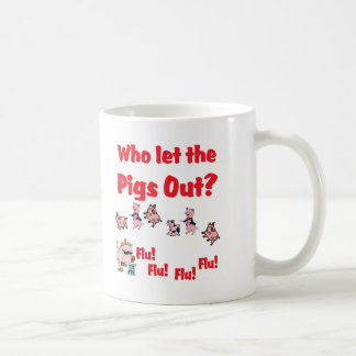 ¿Gripe de los cerdos - quién dejó los CERDOS HACIA Taza