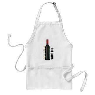 Gripe del vino delantal