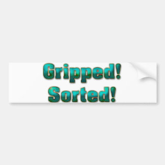 Gripped Sorted Bumper Stickers