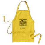 Gripping Cook-Apron