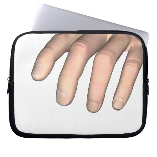 Gripping Hand Laptop Computer Sleeves