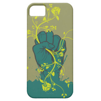 gripping nature hand vector design iPhone 5 cases