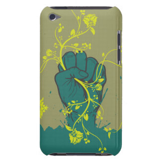 gripping nature hand vector design barely there iPod covers