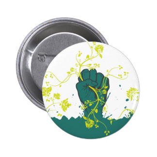 gripping nature vector 2 inch round button