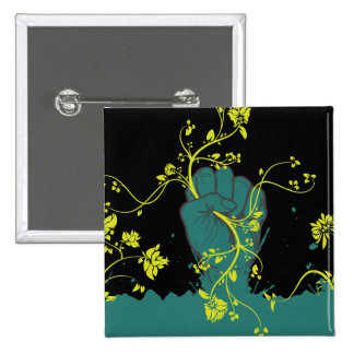 gripping nature vector 2 inch square button