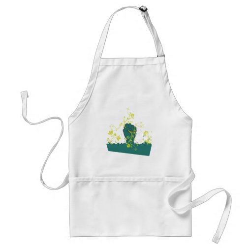 gripping nature vector adult apron