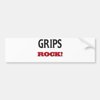 Grips Rock Bumper Stickers