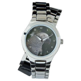 Gris africano pacífico relojes de mano