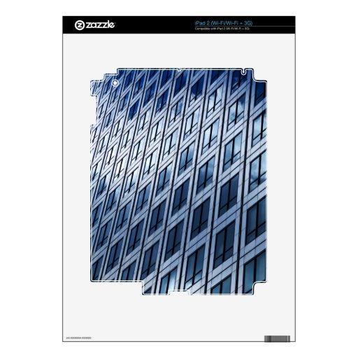 Gris azul abstracto Windows