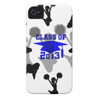 gris azul claro 2013 iPhone 4 Case-Mate protectores
