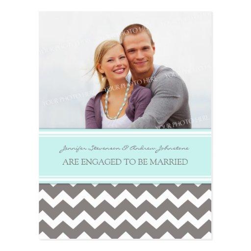 Gris azul de la postal de la foto de la invitación