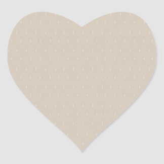 GRIS AZUL llano gris oscuro Pegatina En Forma De Corazón