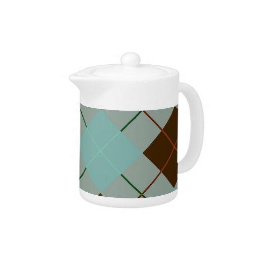 Gris, azul y tela escocesa de tartán de Brown