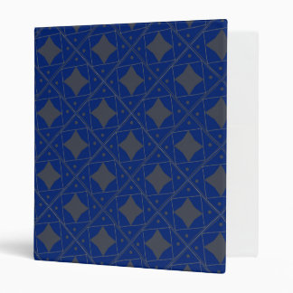 gris bleu patterns binders