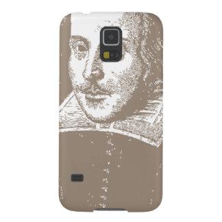 Gris caliente de William Shakespeare Funda Galaxy S5