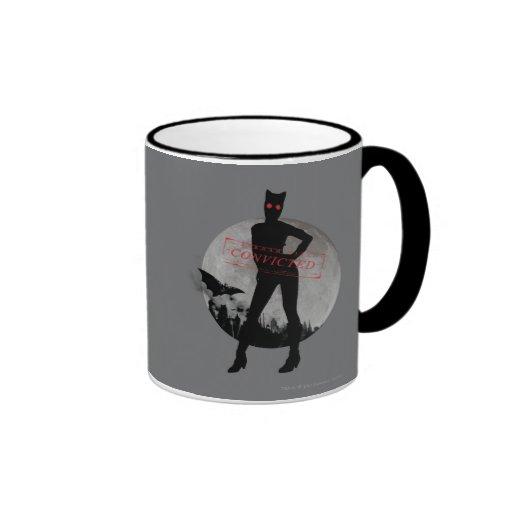 Gris condenado Catwoman Tazas
