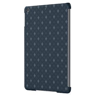 Gris de azules marinos - diseño para los hombres - funda para iPad air