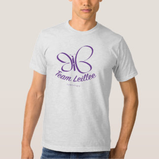 Gris de ceniza de la camisa de Leillee del equipo