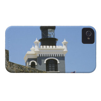Gris de Fuerte San Felipe del Morro encastillado iPhone 4 Fundas