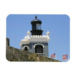 Gris de Fuerte San Felipe del Morro encastillado Iman De Vinilo