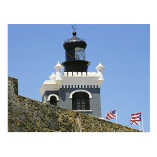 Gris de Fuerte San Felipe del Morro encastillado Postal