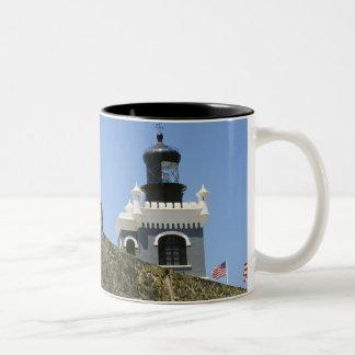 Gris de Fuerte San Felipe del Morro encastillado Taza De Café