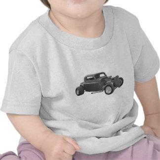 gris de la barra de la calle camiseta