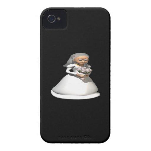 Gris de la novia Case-Mate iPhone 4 protector