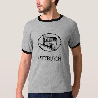 Gris de la pendiente de Pittsburgh Playera