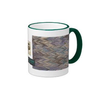 Gris de mármol del T-Diseño Tazas De Café