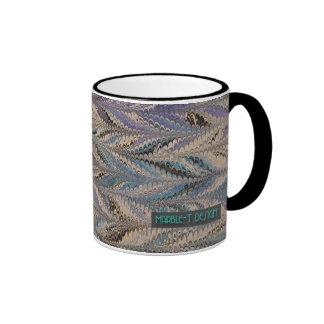 Gris de mármol del T-Diseño Tazas