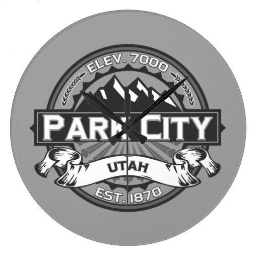 Gris de Park City Relojes