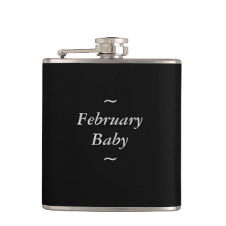 """GRIS del bebé de la MODA FLASK_ """" febrero"""" EN"""