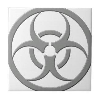 Gris del Biohazard Teja Cerámica