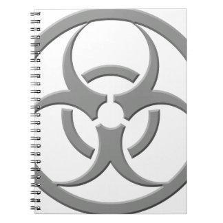 Gris del Biohazard Cuadernos