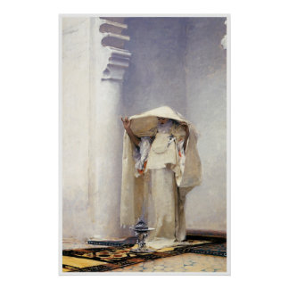Gris del d'ambre de Fumee (Tánger), 1880 Póster