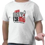 GRIS del DESGASTE de la diabetes I PARA MÍ 6,2 Camiseta