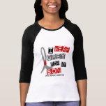 Gris del desgaste de la diabetes I para mi hijo 37 Camiseta