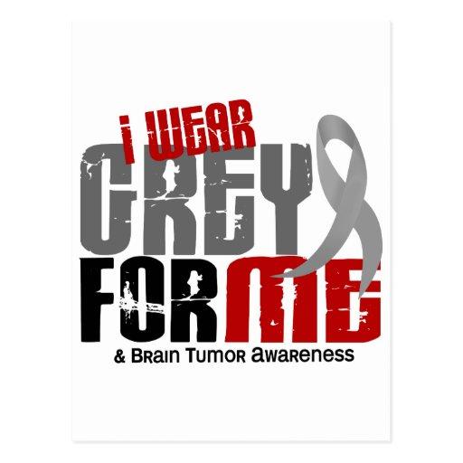 Gris del desgaste del tumor cerebral I para MÍ 6,2 Postal