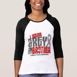 Gris del desgaste del tumor cerebral I para mi Bro Camiseta