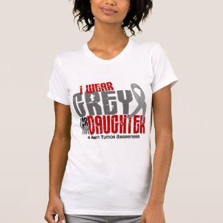 Gris del desgaste del tumor cerebral I para mi hij T Shirts