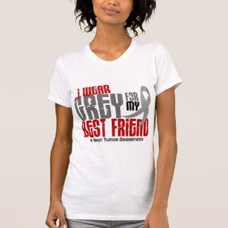 Gris del desgaste del tumor cerebral I para mi Camisetas